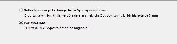 Outlook Zimbra Kurlumu 2